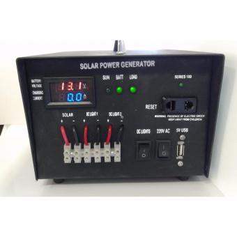 Solar AC/DC Solar Power Generator W/ 40Wp Solar Panel - 3