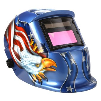 Solar Power Auto Darkening Welding Helmet Arc Tig Mig Professional Welder Mask - intl - 2