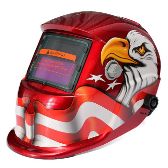 Solar Powered Auto Darkening Welding Helmet Arc Tig mig Grinding Welders Mask