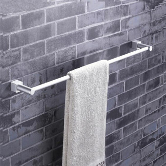 Space Aluminum Towel Rack Bathroom Accessories Towel Bar