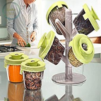 Spices Rack Organizer Kitchen Accessories Pop Up - 5