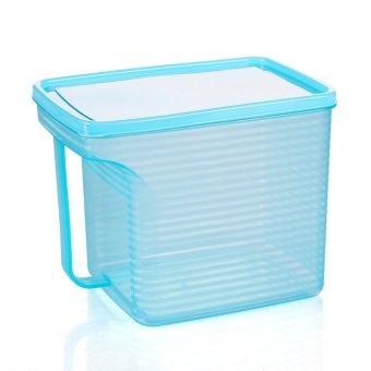 Stackable Refrigerator Seal Storage Box Blue