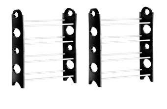 Stackable Shoe Rack Set of 2
