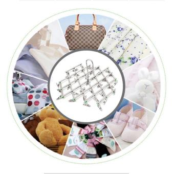 Stainless Steel 35 Clips Folding Underwear Hanging Bra Sock LaundryHanger Drying Clothes Rack Dryer - intl - 4