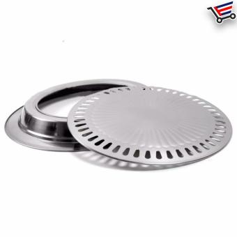 Stainless Steel Indoor Smokeless BBQ Grill - 4