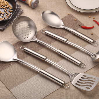 Stainless steel pot set stainless steel full set shovel spoon cooking shovel