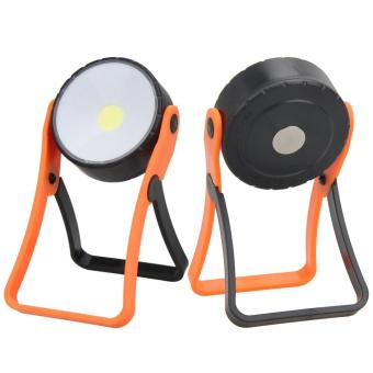 Stand COB LED Work Light Lamp Flashlight with Magnet Hanging Hook - intl