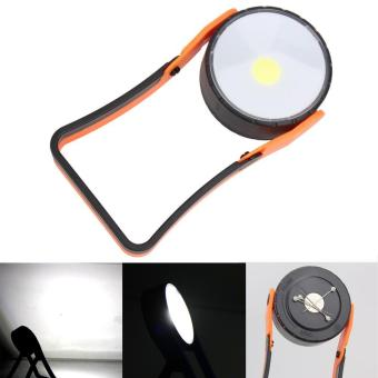Stand COB LED Work Light Lamp Flashlight with Magnet Hanging Hook - intl - 2
