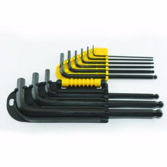 Stanley 69-256 Hex Key Long Arm 9pc 1.5mm - 10mm (Black/Yellow)