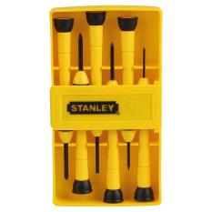 precision tools stanley. stanley precision screwdriver set insulated 6pcs/yellow case precision tools stanley 0