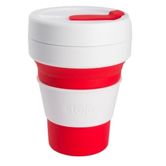 Stojo Collapsible Cups Black 12 oz. - 5