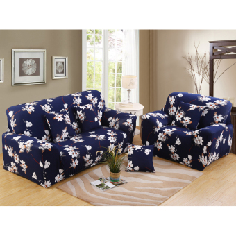 Stretch Chair Loveseat Sofa Cover 2 Seater Protector CouchSlipcover Decor