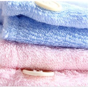 Strong Water Absorbing Microfiber Dry Hair Towel Wrap Bathing Shower Cap - intl - 3