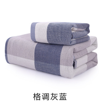 Style retro cotton cloth for men and women adult absorbent towel