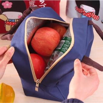 Sunshine Waterproof Lunch Bag (DOLL BEIGE) - 3