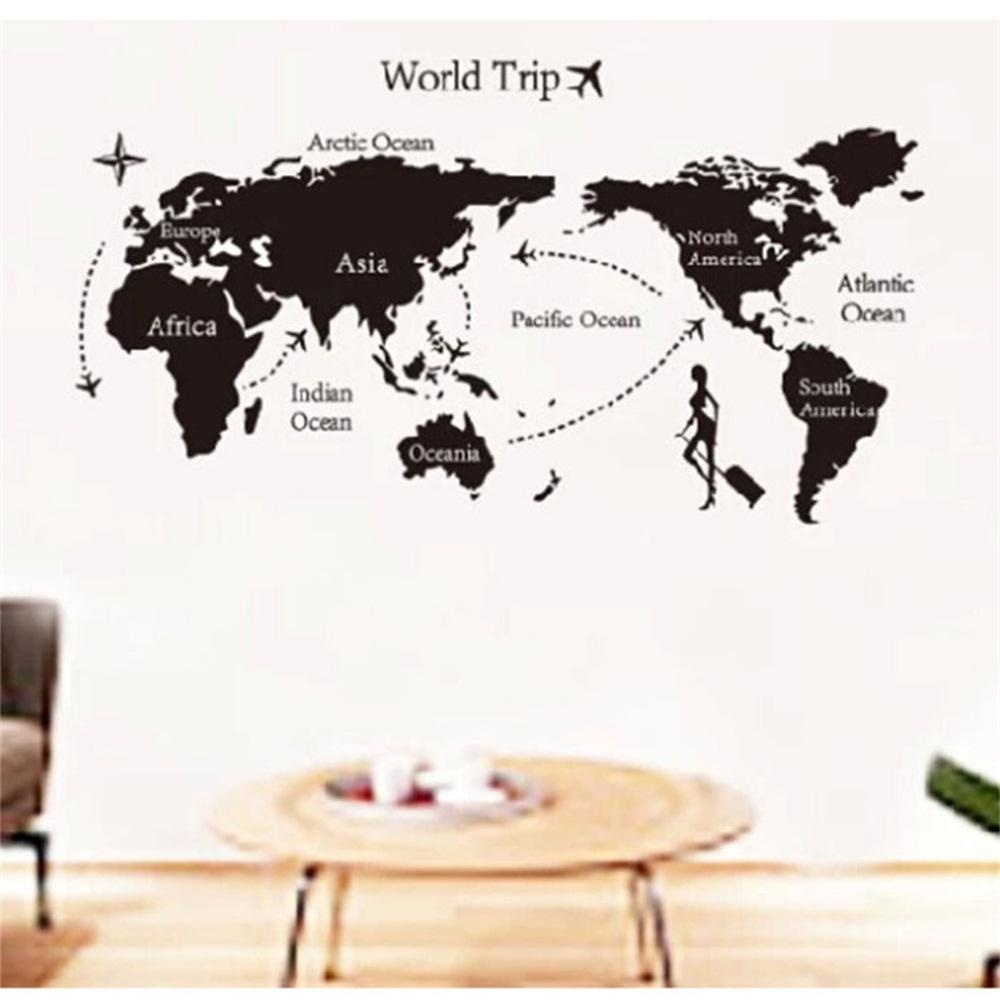 Philippines sunyoo diy colorful travel the world map removable sunyoo diy colorful travel the world map removable vinyl wallstickers room art decal intl gumiabroncs Gallery