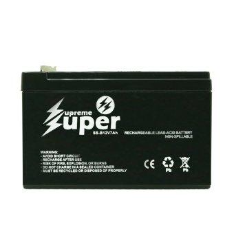 Supreme Super Lead Acid Battery 12V 7Ah SS-B12V7 (Black) - 3
