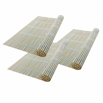 Sushi Mat Rolling Roller Bamboo ( Set of 3 ) - 70168