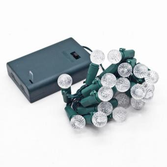 SYLVANIA Battery Operated 20 LED Berry Christmas Lights (Warm White) - picture 2