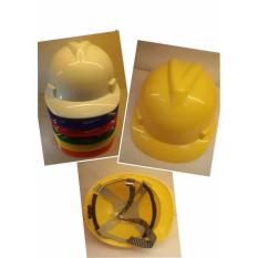 T016 Construction Protective Helmet for Workers (Yellow) Philippines