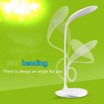 Table Lamp Touch Control Adjustable Three Kinds Of BrightnessPortable Desk Lamp USB Work Light(White)SEPTWOLVES SH003 - 2