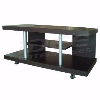 Tailee Furniture 00542 3 Layer Tv Rack Tv Stand W Caster Wheels Wenge Lazada Ph