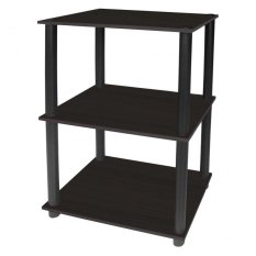 Tailee Furniture 1950BT 3 Layer Open Type Display Rack Storage Wenge