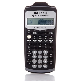 Texas Instruments BA II plus Financial calculator for CFA Price Philippines