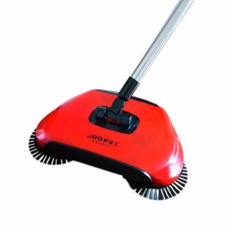 TF New Originality Hand push type rotate Clean broom(Red) - intl