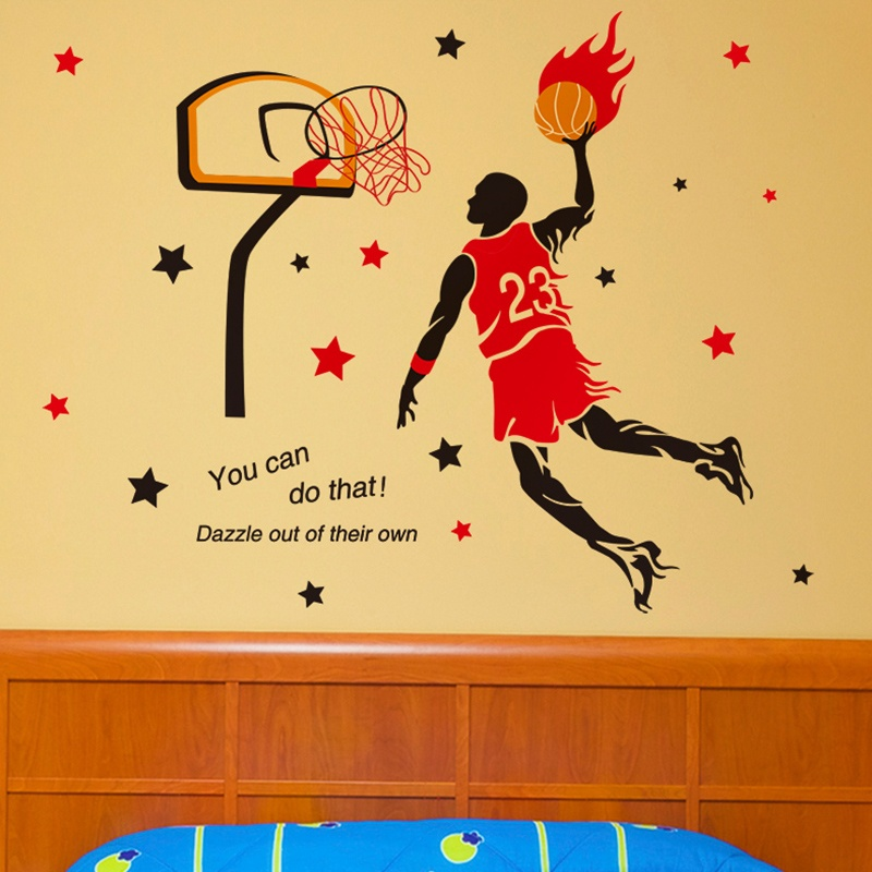 Philippines   The male dormitory bedroom NBA basketball sports ...