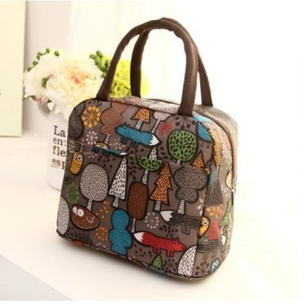 Thermal Insulated Tote Picnic Lunch Cool Bag Cooler Box HandbagPouch - intl - 2