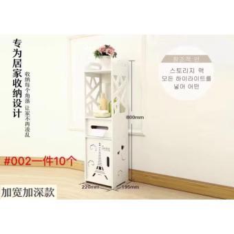 Toilet Side Cabinet, Side Cabinet, Storage Rack, Bathroom FloorLocker, Toilet Storage Cabinet - 3