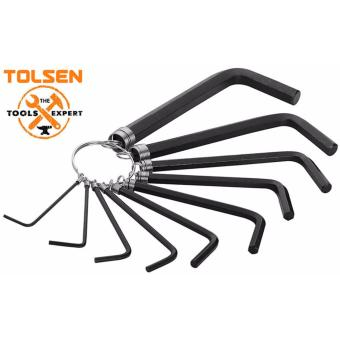 Tolsen 10pcs Hex Key Set On Ring Allen Wrench Price Philippines