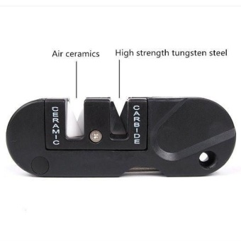 toobony Portable Multifunction Tungsten Steel Knife Sharpener DECOutdoor Mini Tool Ideal Partner for Backpackers, Hikers and KnifeLovers - intl Price Philippines
