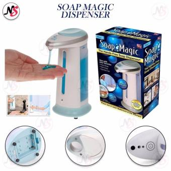 Touch-free Automatic Magic Soap Hands-free sensor Soap Dispenser Hand Soap (Blue)