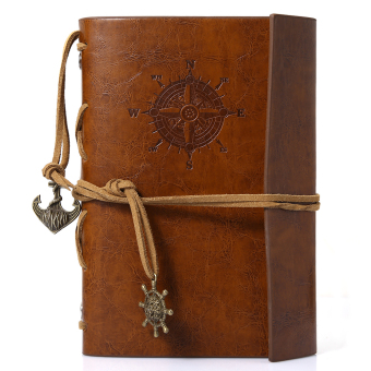 Traveler's Handbook 1pc Vintage Diary Leather Travel Planner Notebook Journal (Intl)