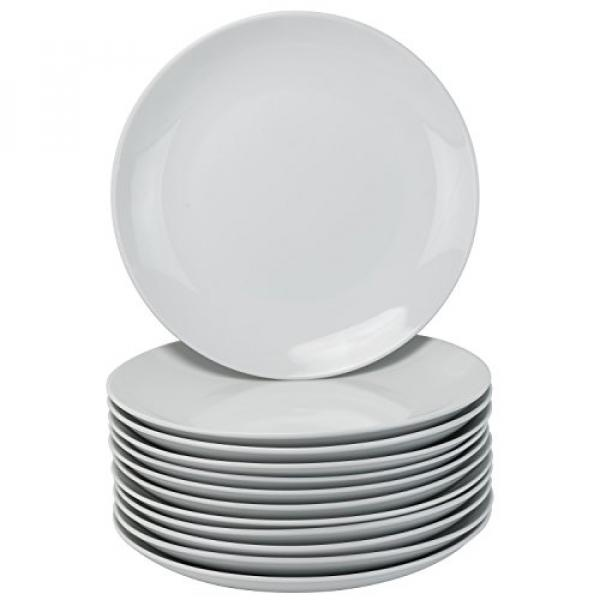 trawberry Street CATERING-12CPDIN Coupe Round 10.5 Set of 12, Dinner Plates, White - intl