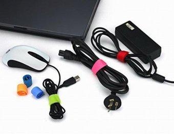 TTmall 50pcs Reusable Self Adhesive Velcro Hook Loop Fastener NylonCable Velcro Magic Tape Adhesive Straps Fastener - intl - 5