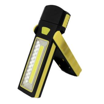UINN Hot COB LED Magnetic Work Stand Hanging Hook Light Flashlight Rechargeable Yellow