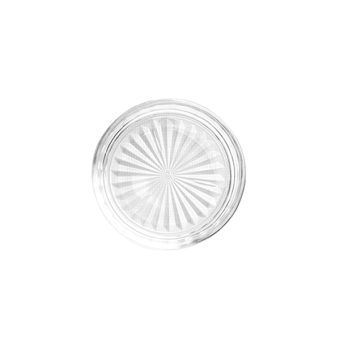 Union Glass Coaster Set of 24 (Clear) with Free Thermal Bag - picture 2