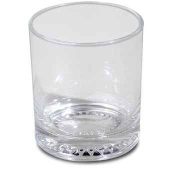 Union Glass Tumbler 9oz Set of 12 (Clear) with FREE Thermal Bag (Blue) - picture 2