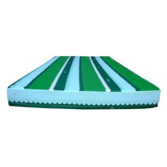 Uratex Mattress with Thin Cotton Cover 4x36x75 (Green)