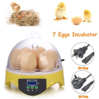 US Plug Automatic Clear Digital 7 Egg Incubator Hatchery for Chicken Duck Bird Quail Digital Temperature Small Brooder - intl - 5
