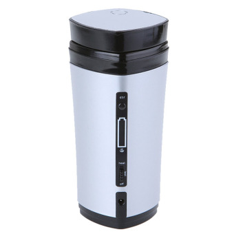 USB heating rechargeable coffee cup (white) - Intl - 2