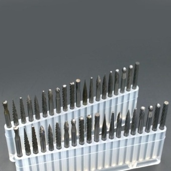 Useful One Set Tungsten Steel Carbide Burrs Die Grinder Drill BitsRotary Tool - intl - 2