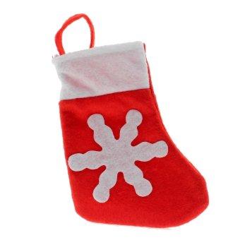 Vanker 1Pc Dinner Table Decor Christmas Sock Tableware Silverware Holder Pocket Bag