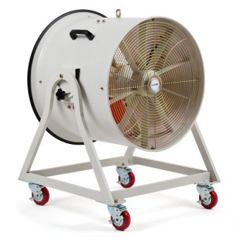Vector TIP-600S-1 Portable Cooling Blower (White/Orange) - picture 2