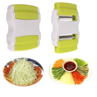Vegetable Potato Carrot Fruit Cutter Slicer Peeler Kitchen Tool -intl