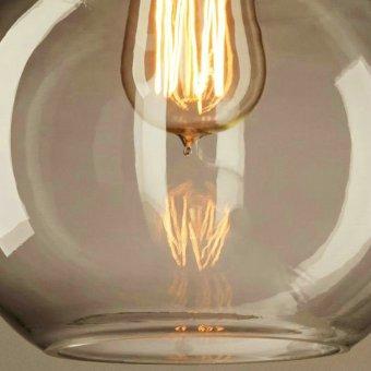 Vintage Chandelier DIY Led Glass pendant Light Pendant Edison LampFixture Edison light bulb chandelier Archaize cafe restaurant bar Bstyle S - 4