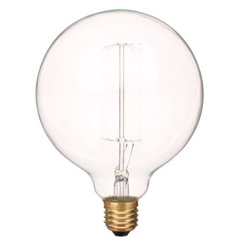 Vintage Retro E27 G125 Huge Globe Edison Light Bulb Lamp Incandescent 60W 220V - 3